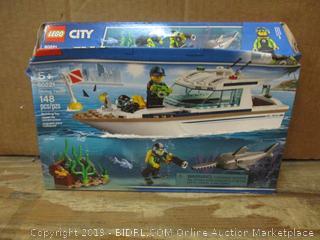 Lego City box damaged
