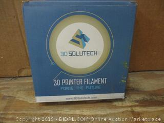 3D Solutech 3D Printing Filament Box damaged