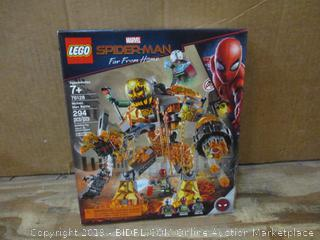 Lego Spiderman box damaged