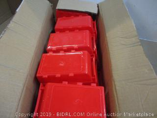 15 Bin Table Top Storage Bin Rack