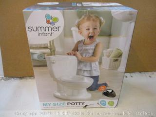 Summer Infant My SIze Potty factory sealed opened for picturing