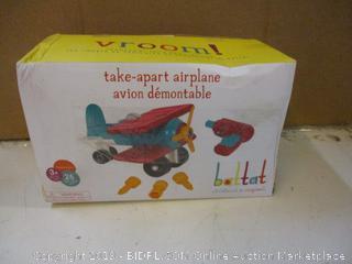 Vroom take apart airplane