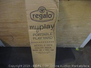 Regalo Portable Play Yard minor damage