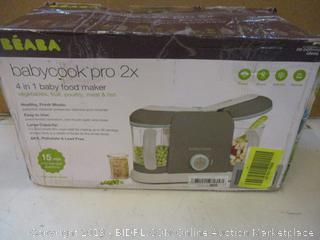 Beara Babycook pro 2x 4 in 1 baby food maker