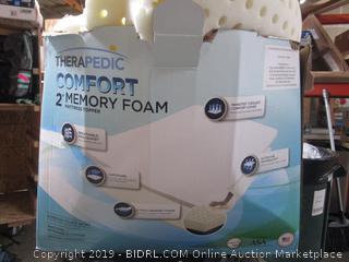 Therapedic Comfort memory Foam