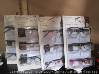 Rimless Classic Eye Glasses