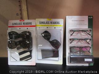 Sunglass Reader Glasses
