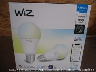 WiZ Connected Light Bulb A19 LEDWifi