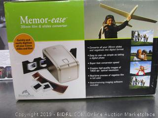 Memor-ease Film & Slides Converter