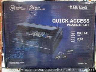 Heritage Security Quick Access Safe