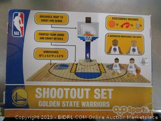 NBA Golden State Warriors Shootout Set