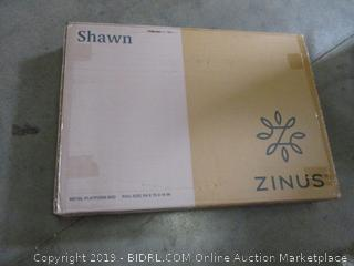 Zinus Shawn Metal Platform Bed, Full