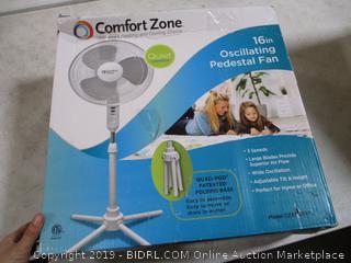 Comfort Zone Pedestal Fan