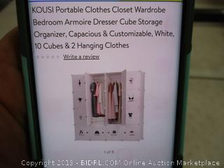 Portable Clothes Closet