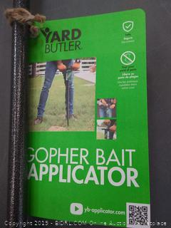 Yard Butler Gopher/Mole Bait Applicator