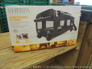 Pet Carrier on Wheels