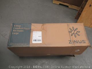 Zins 4 Step Comfort Foam Pet Stairs Large