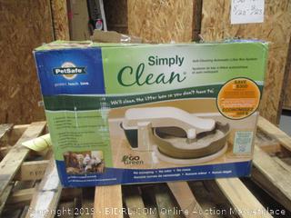 Self Clean Litter Box