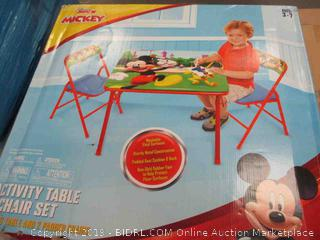 Activity Table Chair Set