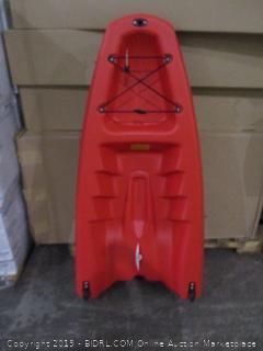 Half a Kayak Incomplete