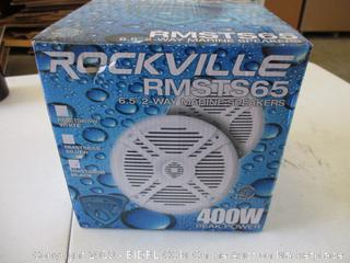 Rockville RMSTS65 Marine Speakers