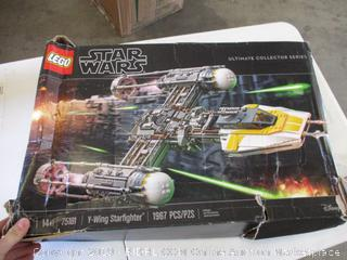 Lego Star Wars Y-Wing Starfighter (Missing Pieces)