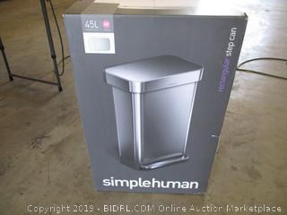 Simplehuman Rectangular Step Can