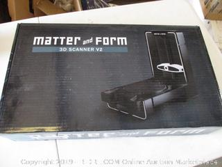 Matter And Form 3D Scanner V2   MFS1V2