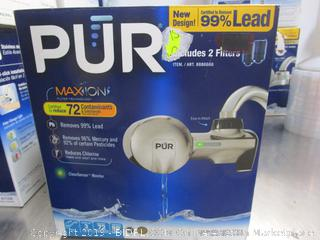 Pure Maxion Water Faucet Filter Adapter