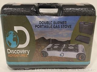 Discovery Adventures Double Burner Portable Gas Stove