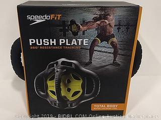 SpeedoFit Push Plate 360 Resistance Training
