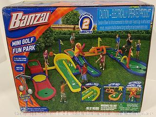 Banzai Inflatable Mini Golf Fun Park