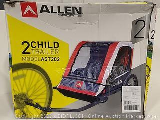 Allen Sports 2 Child Bicycle Trailer