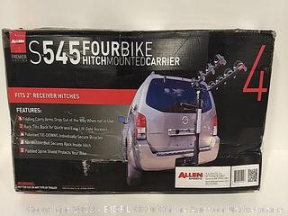 Allen S545 Four Bike Hitch Mounted Carrier