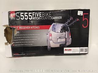 Allen S555 Five Bike Hitch Mounted Carrier