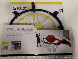 SKLZ Double Double 2-In-1 Shooting and Rebounding Trainer