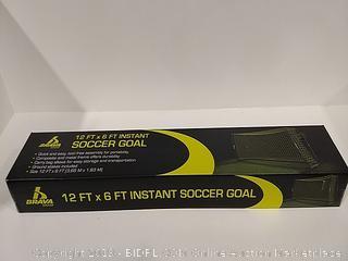 Brava 12' x 6' Instant Soccer Goal