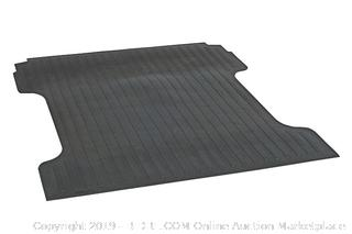 "Dee Zee DZ87005 Heavyweight Bed Mat Black 64.40"" X 66.70"" (online $90) Fits different make/modes. Go to manufacturer website to verify fit"
