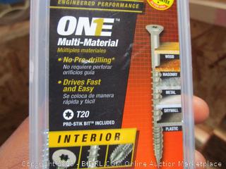 One Multi Material Nails