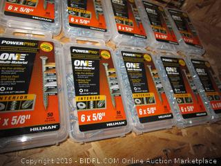 One Multi Material Nails Interior