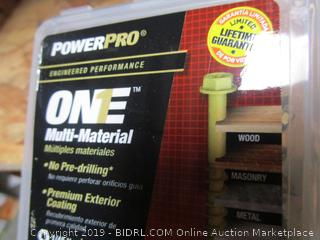 """Hillman One Multi Material Nails 1.75"""""""