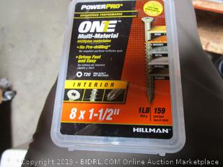 "Hillman One Multi Purpose Material 1.5"" Nails"