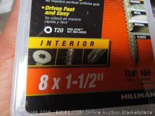 """Hillman One Multi Purpose Material 1.5"""" Nails"""