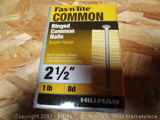 """Fas N Tite Ringed Common Nails 2.5"""""""