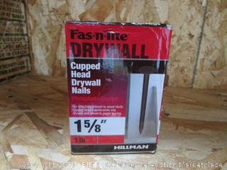 Cupped Head Drywall Nails