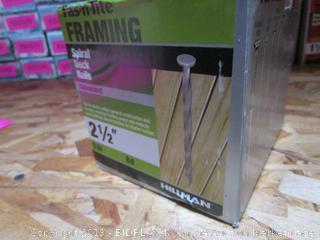 Framing Spiral Deck Nails
