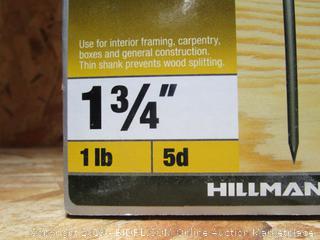 """Framing 1.75"""" Box Nails 1 lb"""