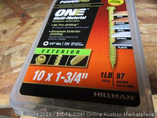 Hillman One Multi Material Nails 1.75""