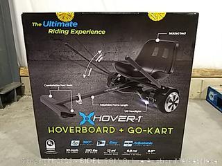Xhover-1 Hoverboard + Go-Kart