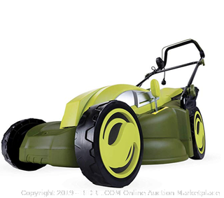 Sun Joe MJ403E Electric Lawn Mower, Green (17-inch 13-amp)